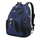 Рюкзак WENGER, универсальный, сине-черный, 26 л, 34х17х47 см, 98673215