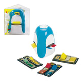 Диспенсер для закладок самоклеящихся POST-IT Professional + закладки в комплекте 190 штук, TRIDEX BLUE