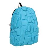 """Рюкзак MADPAX """"Blok Full"""", универсальный, молодежный, 32 л, голубой, """"Блоки"""", 46х35х20 см, KZ24484094"""