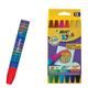 """Восковые мелки утолщенные BIC """"Kids Wax Crayons"""", 12 цветов, на масляной основе, шестигранные, 926446"""