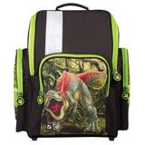 """Ранец жесткокаркасный BRAUBERG, для учеников средней школы, """"Динозавр"""", 18 литров, 36х26х14 см, 226285"""