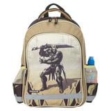 """Рюкзак ПИФАГОР для учеников начальной школы, """"Железный воин"""", 15 литров, 38х28х14 см, 226335"""