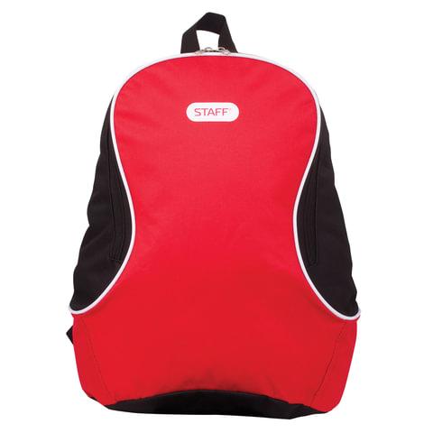 "Рюкзак STAFF ""Флэш"", красный, 12 литров, 40х30х16 см, 226372"