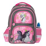"""Рюкзак BRAUBERG, с EVA спинкой, для учениц начальной школы, """"Лошади"""", 12 литров, 38х30х14 см, 226393"""