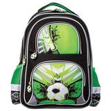 """Рюкзак BRAUBERG, с EVA спинкой, для учеников начальной школы, """"Гол"""", 12 литров, 38х30х14 см, 226397"""
