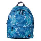 """Рюкзак BRAUBERG универсальный, сити-формат, синий, """"Пальмы"""", 20 литров, 41х32х14 см, 226414"""