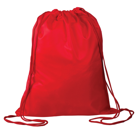 Сумка для обуви ТОП-СПИН для учеников начальной школы, красная, 43х35 см, 226549
