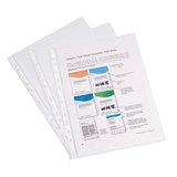 Папки-файлы перфорированные, A4, ERICH KRAUSE, комплект 100 шт., гладкие, эконом, 30 мкм, 30630