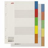 Разделитель картонный А5, 5 листов, цветовой/5 цветов, 160х210 мм, HATBER, 5AR 10503, М224823