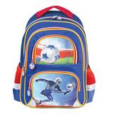 """Рюкзак BRAUBERG, с EVA спинкой, для учеников начальной школы, """"Дроид-футболист"""", 38х30х14 см, 226892"""