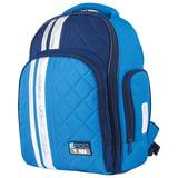Рюкзак TIGER FAMILY (ТАЙГЕР) с ортопедической спинкой для средней школы, голубой/синий, 39х31х20 см, TGRW-003A