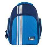 Рюкзак TIGER FAMILY (ТАЙГЕР) с ортопедической спинкой для учеников средней школы, синий/голубой, 39х31х22 см