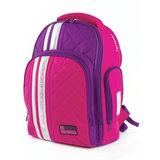 Рюкзак TIGER FAMILY (ТАЙГЕР), с ортопедической спинкой для средней школы, розовый/фиолетовый, 39х31х20 см, TGRW-004A
