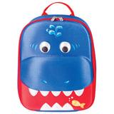 """Рюкзак детский BRAUBERG с термоизоляцией, 1 отделение, для мальчиков, """"Акула"""", 29х23х9 см, 227065"""
