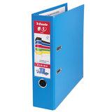 Папка-регистратор ESSELTE, 80 мм, А4+, VIVIDA Plus, с двухсторонним покрытием из полипропилена, синяя, 81185