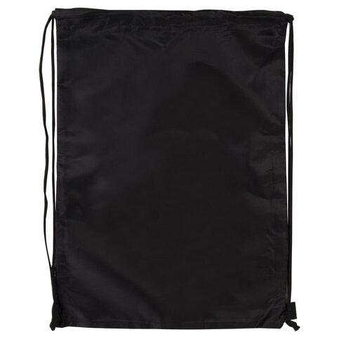 Мешок для обуви BRAUBERG ПРОЧНЫЙ, на шнурке, черный, 42x33 см, 227143