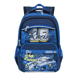 "Рюкзак GRIZZLY для учеников средней школы, ""Old car"", 13 литров, 39х28х19 см, RB-860-1/4"