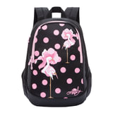 Рюкзак GRIZZLY универсальный, для девушек, Фламинго, 29х40х20 см, RD-843-1/1