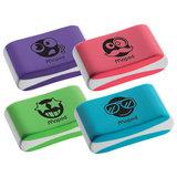 "Ластик MAPED (Франция) ""Essentials Soft Color"", 33,5х21,5х9,9мм, цветной, ассорти, эргономичный, синтетический каучук, 112922, 112921"