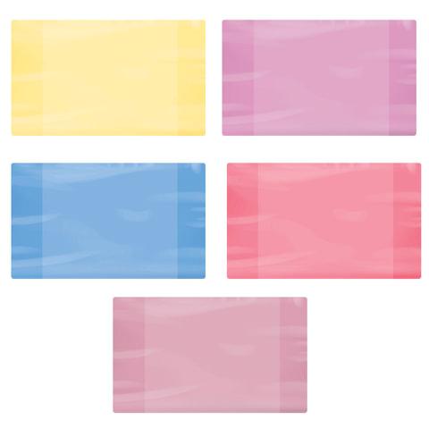 Обложка ПЭ для дневников и тетрадей ПИФАГОР, цветная, 60 мкм, 210х350 мм, 227422