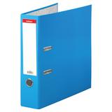 """Папка–регистратор ERICH KRAUSE """"Neon"""", ламинированная, 70 мм, голубая, 45396"""