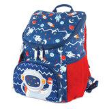 Рюкзак TIGER FAMILY (ТАЙГЕР) для дошкольников, синий, мальчик, Астронавт, 31х24х16 см, SKLT-001A