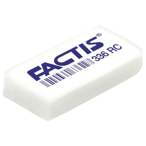 Ластик FACTIS 336 RC (Испания), 40х20х8 мм, белый, прямоугольный, CNF336RC