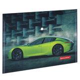 """Папка-конверт с кнопкой BRAUBERG """"SPORT CAR"""", А4, 160 мкм, до 100 листов, цветная печать, 228043"""