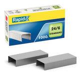 """Скобы для степлера RAPID """"Standard"""", №24/6, 1000 штук, до 20 листов, 24855600"""