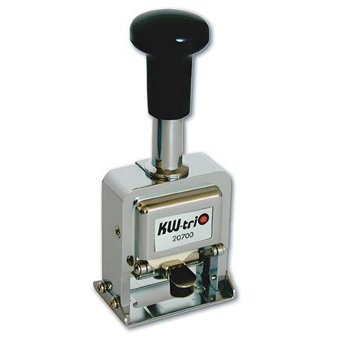 Нумератор KW-trio, 7-разрядный, автоматический, металлический, 20700