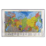 """Коврик-подкладка настольный для письма, с картой России, 380х590 мм, """"ДПС"""", 2129.Р"""
