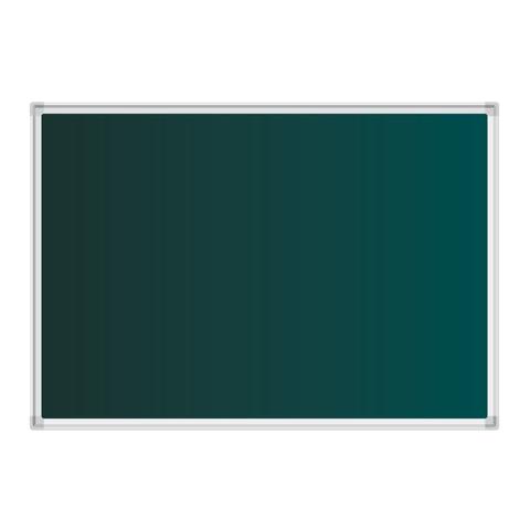 Доска для мела магнитная 100х150 см, зеленая, BOARDSYS, М-150