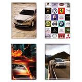Обложка для автодокументов c фотопечатью, 128х92 мм, ПВХ, дизайн ассорти, А5-15