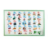 Коврик-подкладка настольный для письма (590х380 мм), с русским алфавитом, ДПС, 2129.А