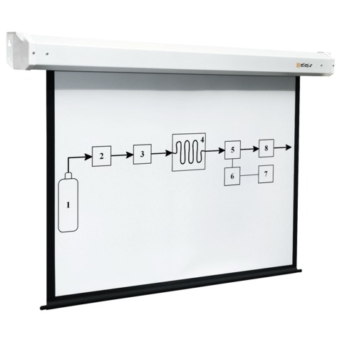 Экран проекционный DIGIS ELECTRA, матовый, настенный, электропривод, 154х270см, 16:9, DSEM-162806