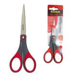 """Ножницы SCOTCH """"Precision"""", 180 мм, для точной резки, эргономичные, подшипник, красные, европодвес, 1447"""