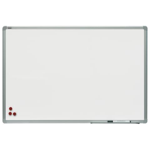 Доска магнитно-маркерная 100x200 см, алюминиевая рамка, 2х3 OFFICE, (Польша), TSA1020