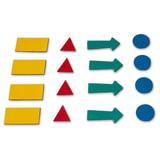 """Магниты-символы для планинга, 4 листа (317 символов), АССОРТИ, 2х3 (""""Дважды три"""", Польша), AS101"""