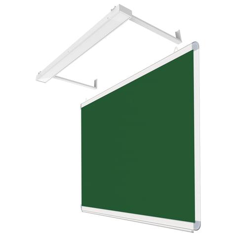 Светильник для школьной доски, с кронштейнами и крепежом, светодиодный
