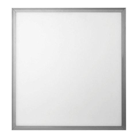 Панель светодиодная потолочная ЭРА, 595x595x8, 40 Вт, 6500 K, 2800 Лм, БЕЗ БЛОКА ПИТАНИЯ, серебро, Б0026960
