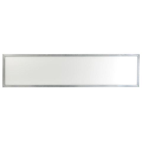 Панель светодиодная потолочная ЭРА, 295x1195x8, 40 Вт, 6500 K, 2800 Лм, БЕЗ БЛОКА ПИТАНИЯ, серебро, Б0019449