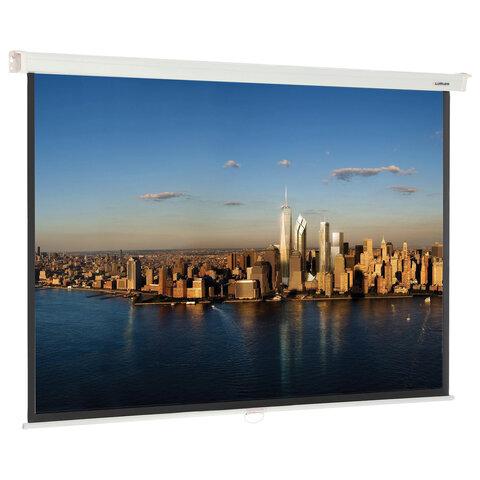 Экран проекционный настенный (128х171 см), матовый, 4:3, LUMIEN MASTER PICTURE, LMP-100108
