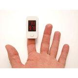Пульсоксиметр BLS-1102А, диапазон измерения SpO2 70%-99%, измерение пульса 30-240 ударов/мин, белый, BLS-1102A
