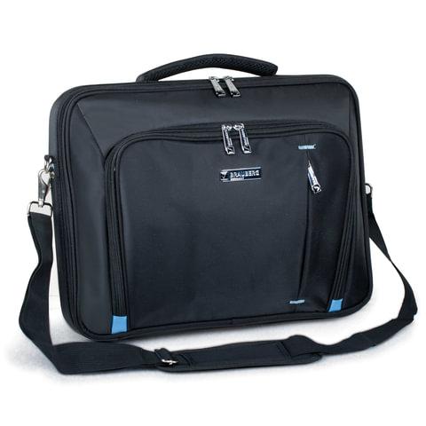 """Сумка деловая для офиса и учебы BRAUBERG """"Aero"""", отделение для планшета и ноут. 15,6"""", размер 30х40х6 см, ткань, 240451"""
