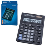 Калькулятор настольный CITIZEN SDC-554 (199x153 мм), 14 разрядов, двойное питание