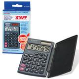 Калькулятор STAFF карманный STF-638, 8 разрядов, двойное питание, 120х75 мм