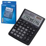 Калькулятор настольный CITIZEN SDC-395N (192х143 мм), 16 разрядов, двойное питание