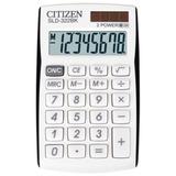 Калькулятор CITIZEN карманный SLD-322BK, 8 разрядов, двойное питание, 105х64 мм