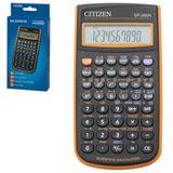 Калькулятор CITIZEN инженерный SR-260NOR, 10+2 разряда, питание от батарейки, 154х80 мм, оранжевый, SR-260NPU