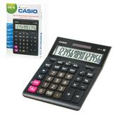 Калькулятор настольный CASIO GR-16-W (209х155 мм), 16 разрядов, двойное питание, европодвес, черный, GR-16-W-EP